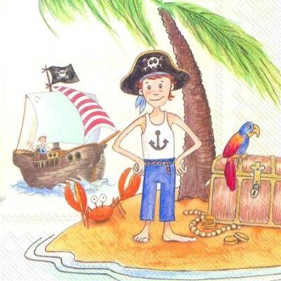Guardanapos de papel Piratas