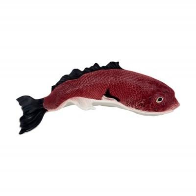 Bordallo Pinheiro - Peixe Travessa  Curva 54 cms