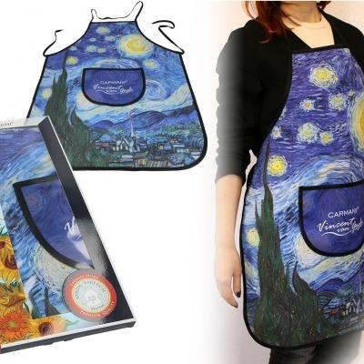 Avental Mestres da pintura - V. Van Gogh - Noite Estrelada