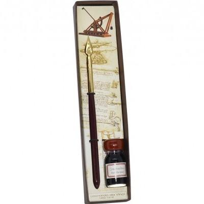 Conjunto de Escritura Leonardo Da Vinci