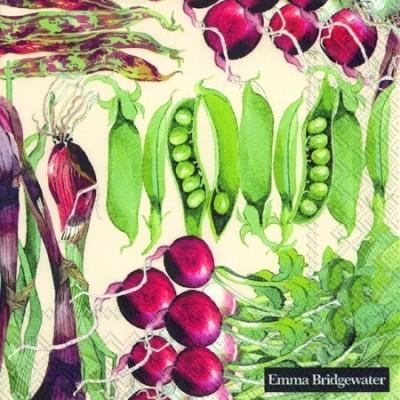 Guardanapos de papel Vegetais Emma Bridgewater
