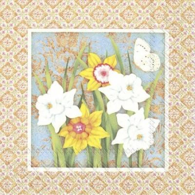 Guardanapos de papel Narcisos