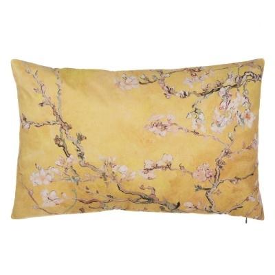 Almofada Retangular amendoeiras 60*40 dourado