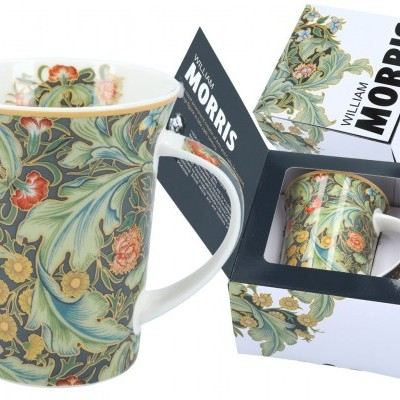 Mestres da pintura-William Morris Caneca Porcelana