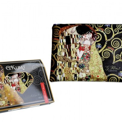 Mestres da pintura - Klimt- O Beijo - Necessaire