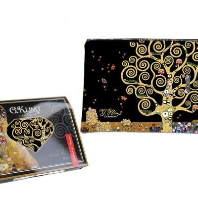 Mestres da pintura - Klimt- Árvore da Vida - Necessaire