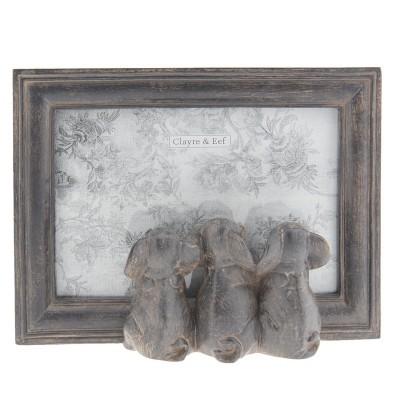 Moldura com Elefantes 10*15