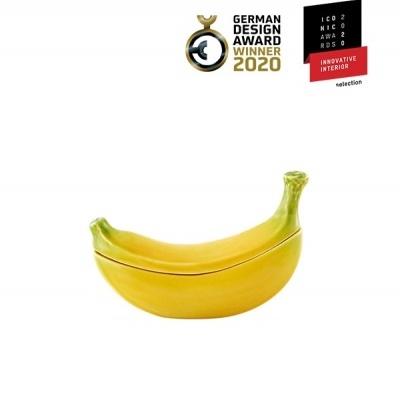 Bordallo Pinheiro - Banana da Madeira - Caixa 0,33L Banana