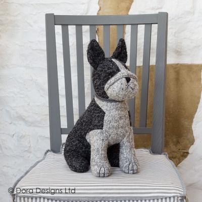 Trava Portas Boston Terrier Dora Designs