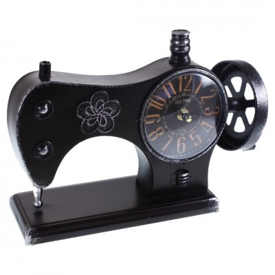 Relogio maquina costura metal