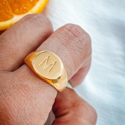 Anel Personalizado Gold