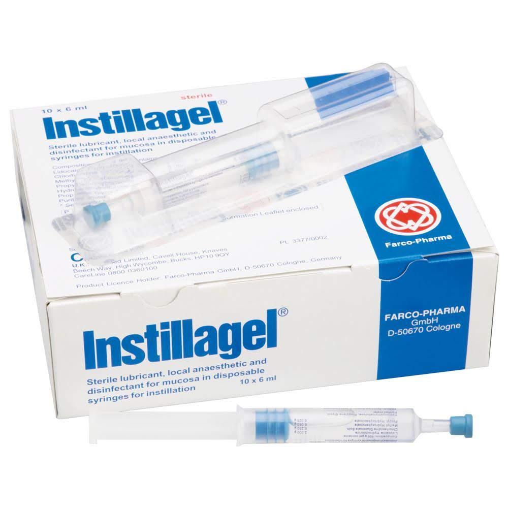 Instillagel, lubrificante ureteral 11ml cx.20