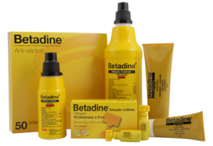 Betadine sol. cutânea 500ml (Amarelo)