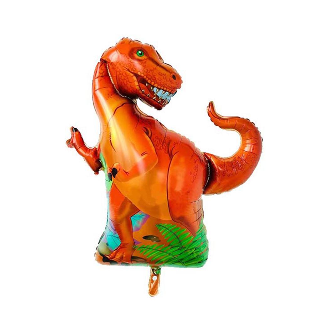 Balão dinossauro laranja