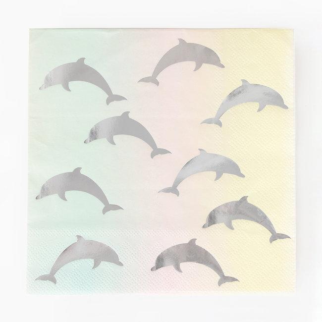 Guardanapos golfinhos