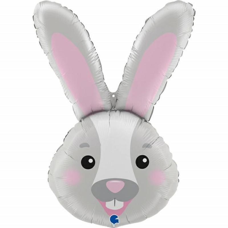 Balão cabeça coelho