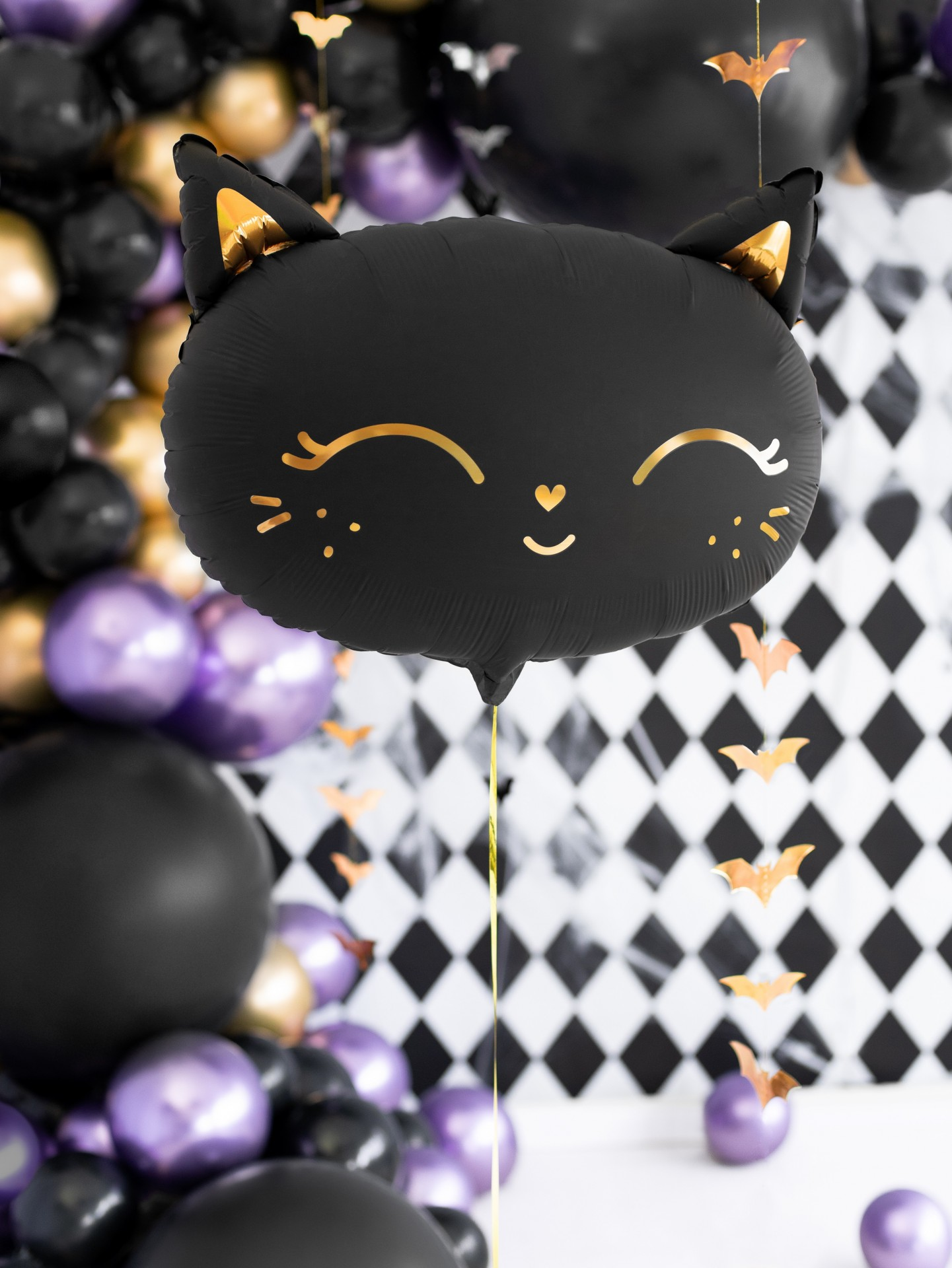 Balão gato preto