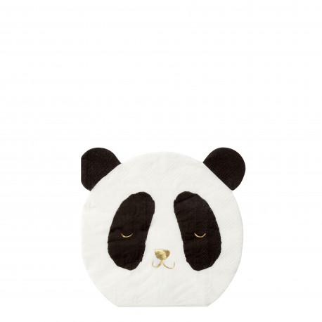 Guardanapos panda