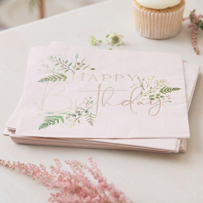 Guardanapos floral