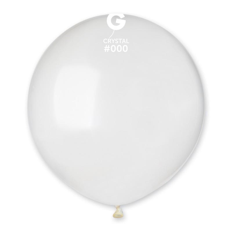 Balão látex 48cm cristal