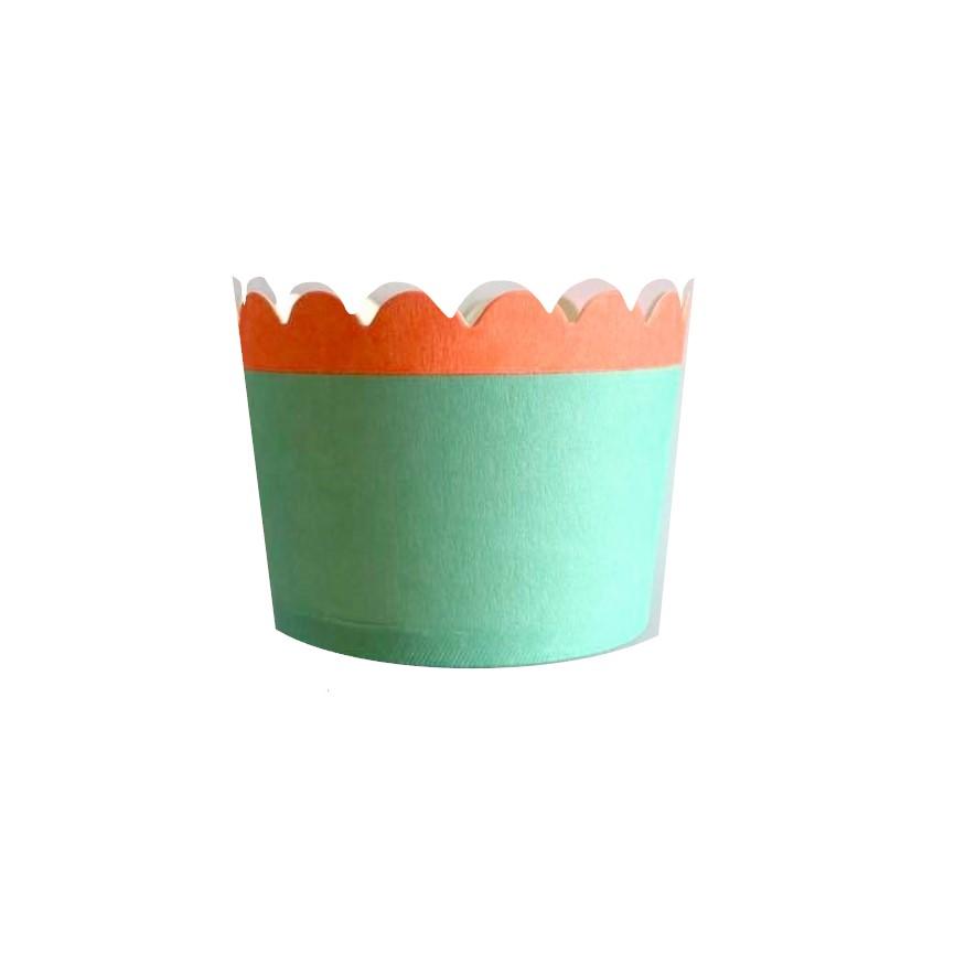 Formas cupcake florescentes