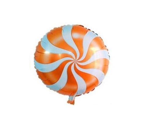 Balão lolipop laranja