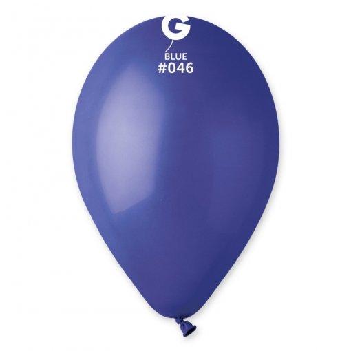 10 balões azul escuro