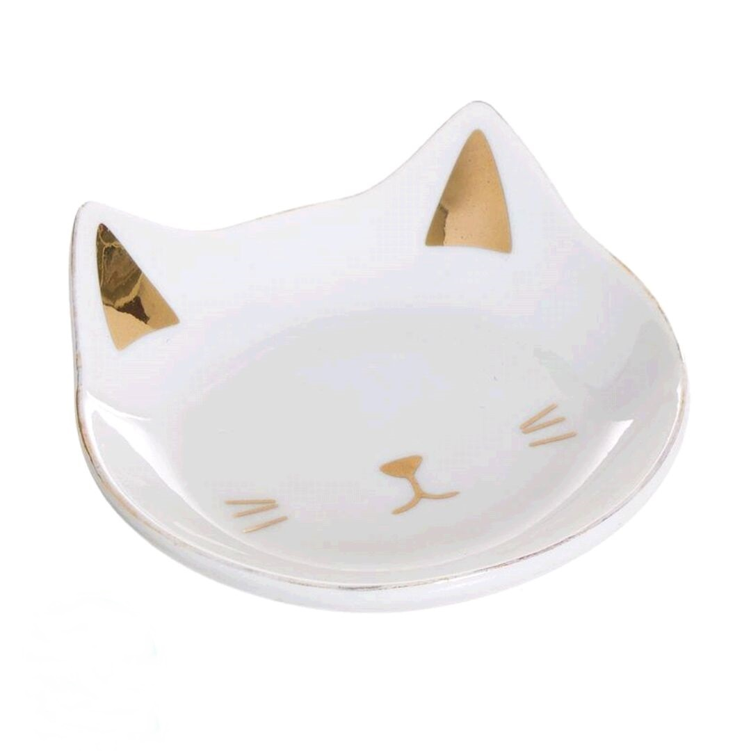 Prato decorativo gato