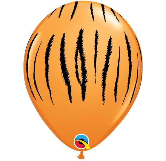 Balão látex 30cm tigre