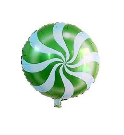 Balão lolipop verde