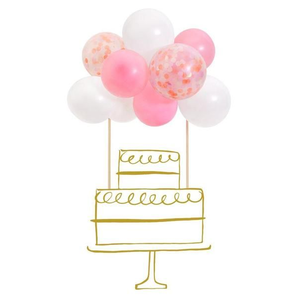 Cake topper balloon
