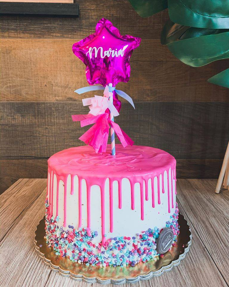 Cake topper balão estrela