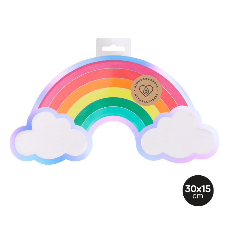 Pratos arco-íris