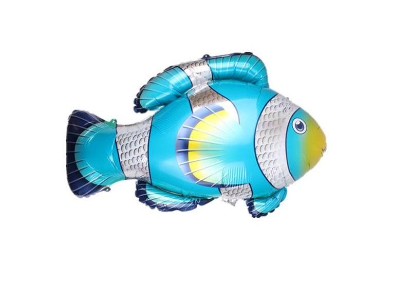 Balão peixe azul