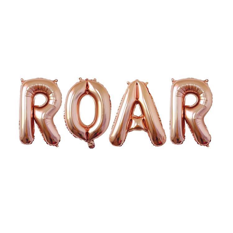 Balão letras ROAR