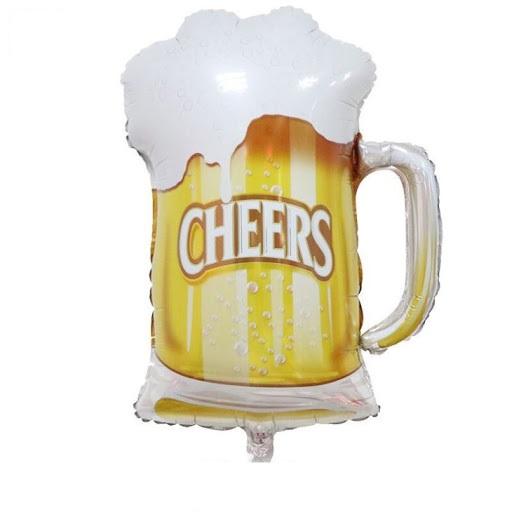 Balão cheers cerveja