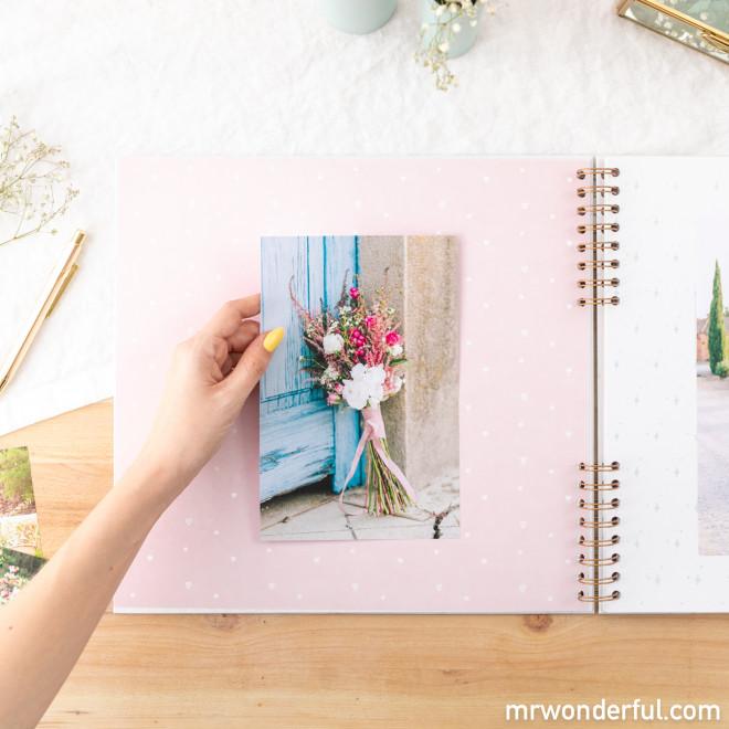 Álbum de fotos Casamento
