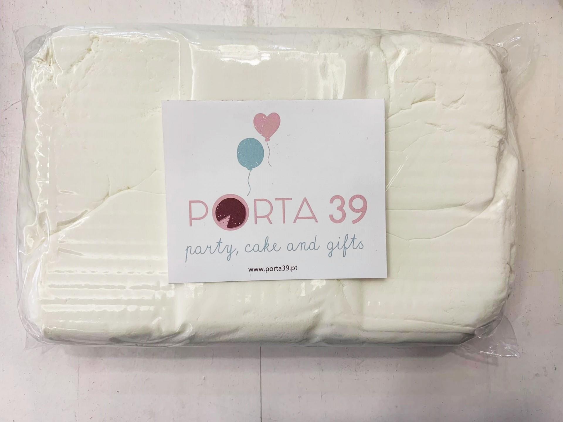 Pasta de açúcar branca 2,5kg