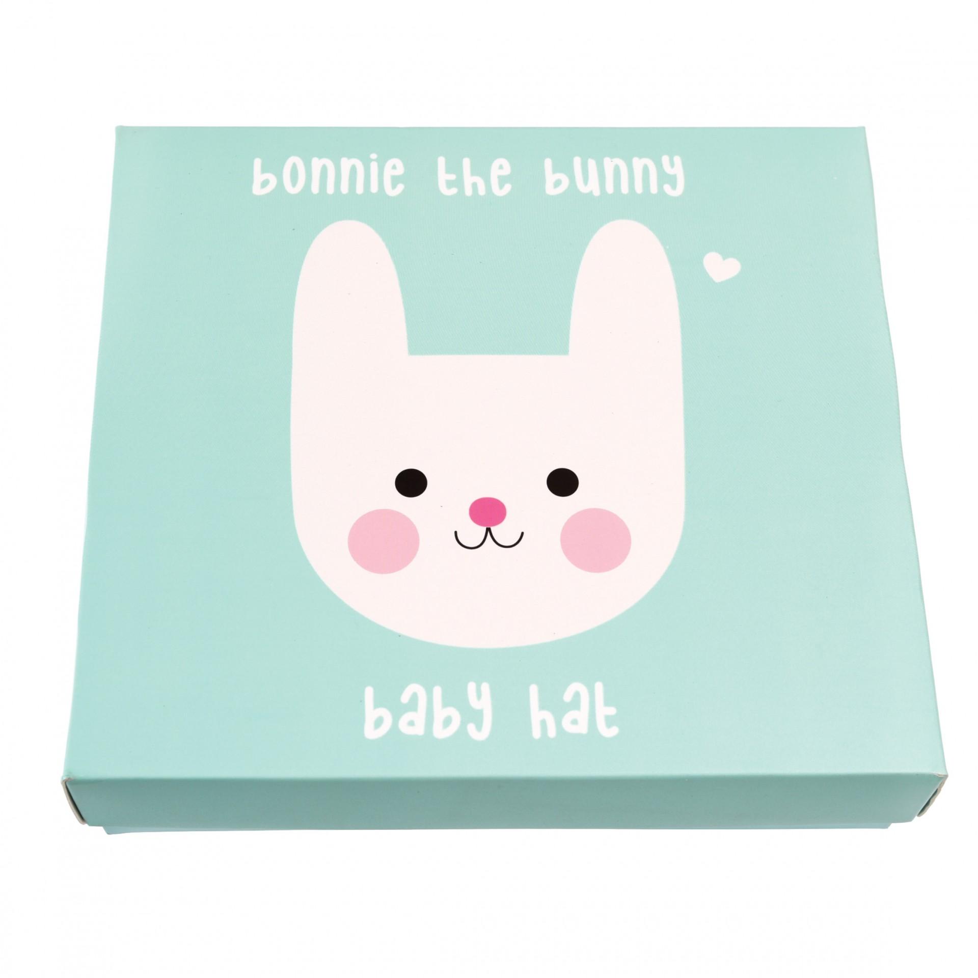 Gorro de bebé coelho