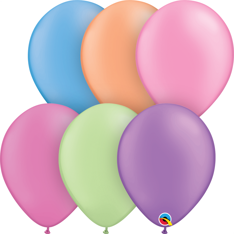 Conjunto balões látex 30cm neon