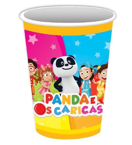 Copos Panda e os Caricas