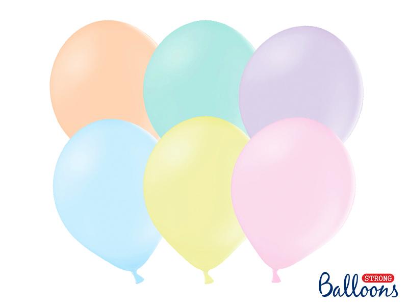 Conjunto balões látex pastel