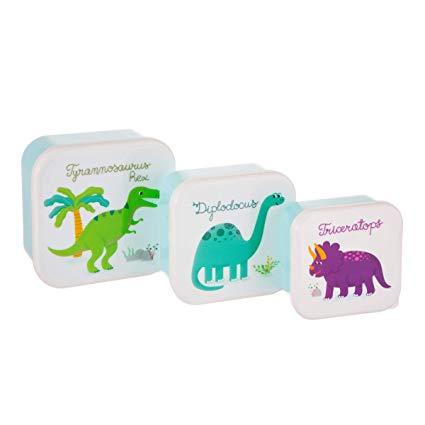 Caixas de alimentos Dino