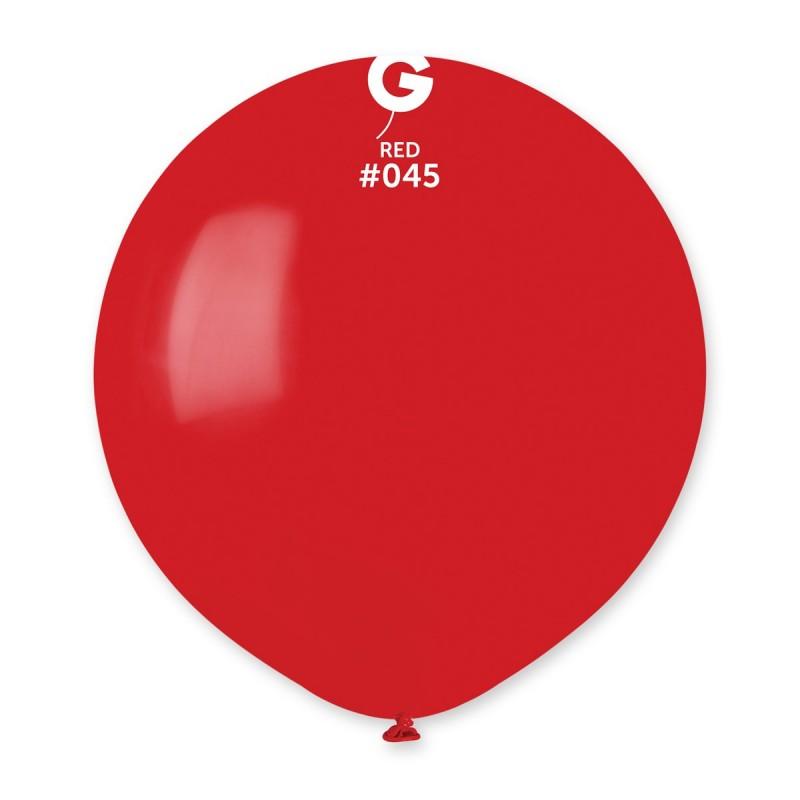 Balão látex 48cm vermelho