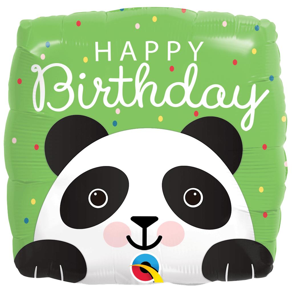 Balão bday panda