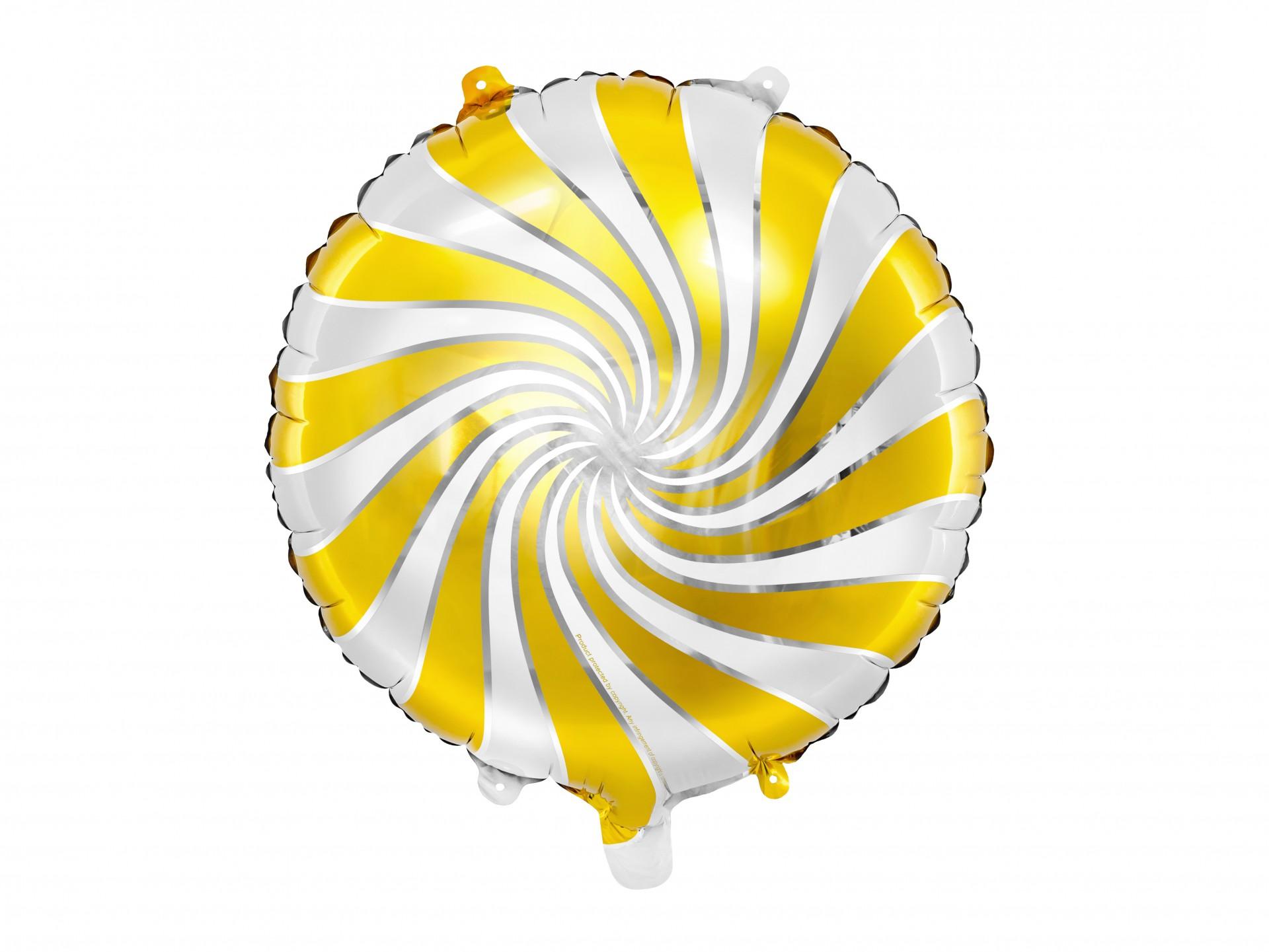 Balão candy dourado