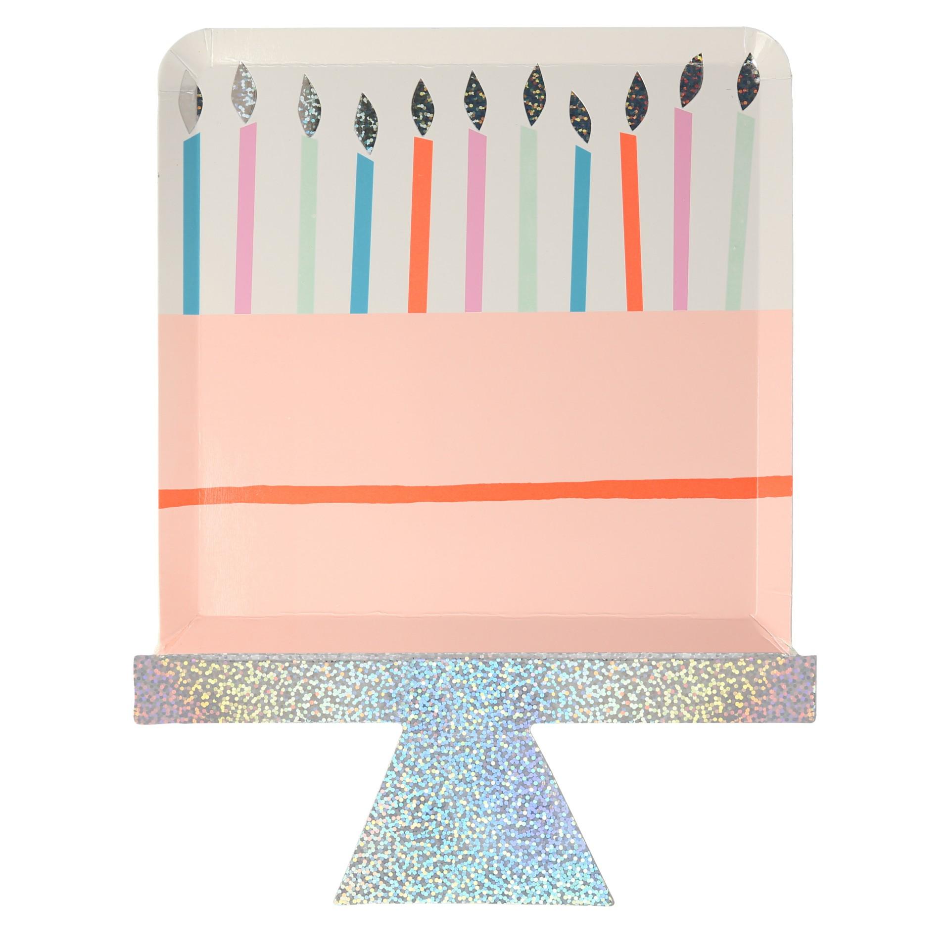 Pratos birthday cake