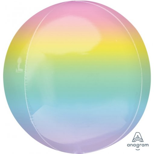 Orbz ombre pastel