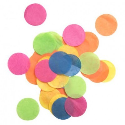 Confetis coloridos