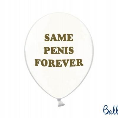 Conjunto balões latex SAME PENIS FOREVER
